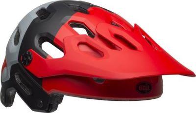 Casque Bell Super 3 Rouge Crimson