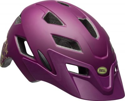 Casque junior Bell SIDETRACK YOUTH Plum mat/Pear