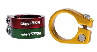 Collier de tige de selle Ergotec 31,8 mm Alu 6061 À visser Vert