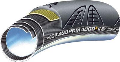 Boyau Continental GP 4000 S II 700 x 22 Noir