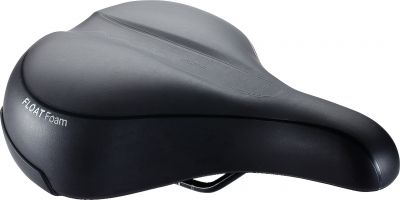 Selle city BBB Meander Relaxed 205x270 mm Noir - BSD-93