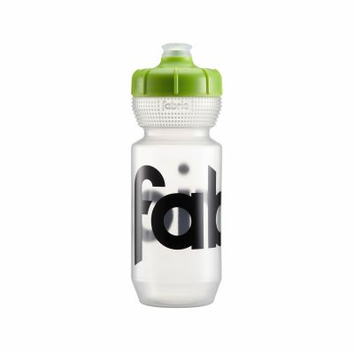Bidon Fabric Gripper 600 ml Transparent/Vert