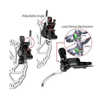 Ensemble frein à disque hydraulique Tektro Auriga E-Twin