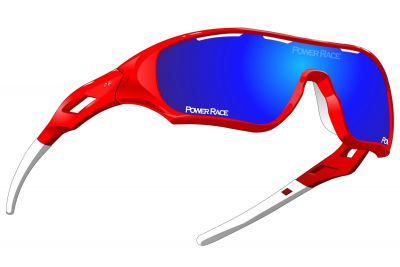 Lunettes Power Race Star Fighter Rouge/Bleu