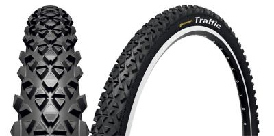 Pneu Continental Traffic 26 x 1.90 TR Noir