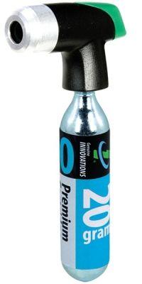 Percuteur Genuine Innovations HammerHead pour cartouche CO² 16/20/25 g + 1 cartouche CO² 20 g