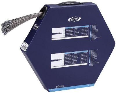 Boîte de 100 câbles frein route BBB BrakeWire type Shimano 1.5x900 mm - BCB-43SF