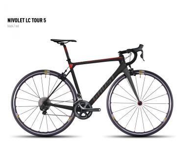 Vélo Ghost Nivolet Tour LC 5 Noir/Rouge