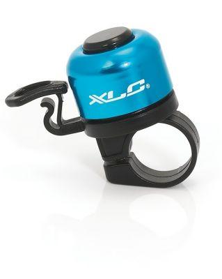 Mini sonnette XLC DD-M06 Diam. 33 mm Alu Bleu