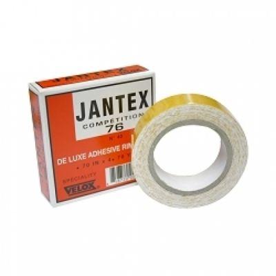 Rouleau VELOX Jantex Compétition 76 adhésif 18 mm pour boyau sur jante alu