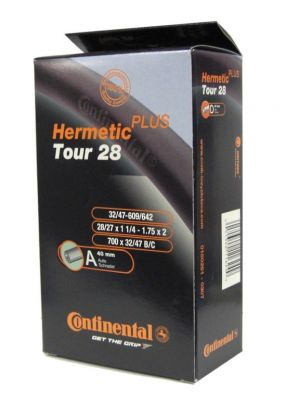 Chambre à air Continental Tour Hermetic Plus 700 x 32/47B/C Schrader 40 mm