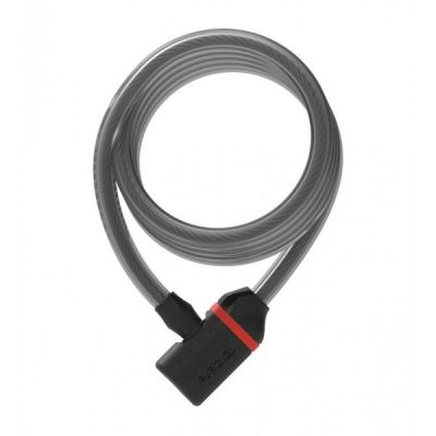 Antivol Zéfal K-Traz C8 câble spirale à clé 12 mm x 185 cm