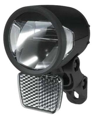 Éclairage avant Herrmans LED H-Black MR8 Dynamo 180 Lumen Noir