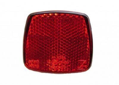 Catadioptre arrière B&M Mini Z sur serrage de selle Rouge