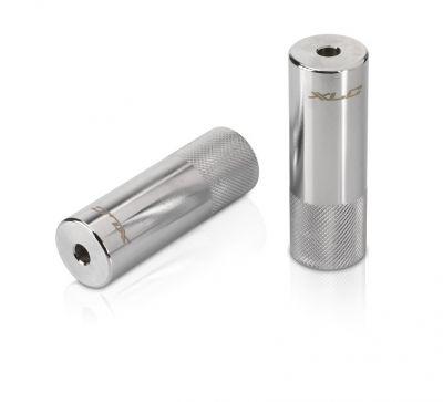 Pegs XLC AX-C01 Diamètre axe 10 mm (Paire) Argent