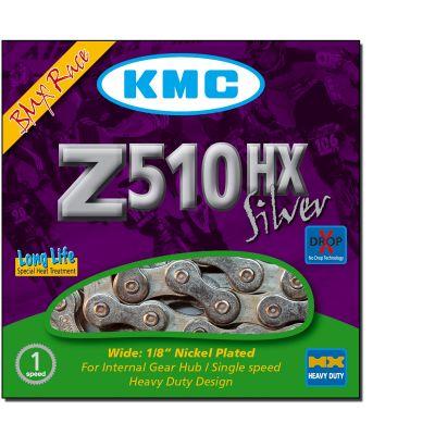 Chaîne KMC Z510HX 1/3V 112M Argent