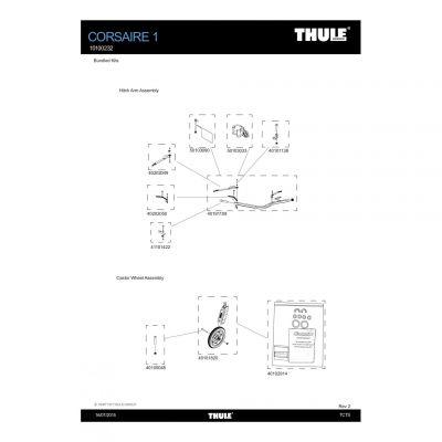 Kit de remplacement Thule - 41101422