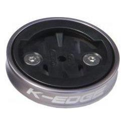 Support GPS k-edge gravity de capot de potence pour garmin gris