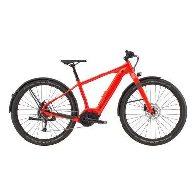 Vélo électrique Cannondale Canvas Neo 2 Rouge Acid 2020