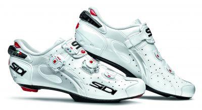 Chaussures Sidi WIRE Speedplay Carbon Vernice Blanc verni