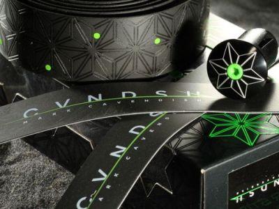 Bouchons de cintre Supacaz Star Plugz Cavendish Noir/Vert