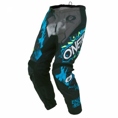 Pantalon MX O'Neal Element enfant Villain Gris