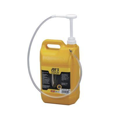 Gel anti-crevaison Joe's No-Flats jaune chambre à air 5 litres