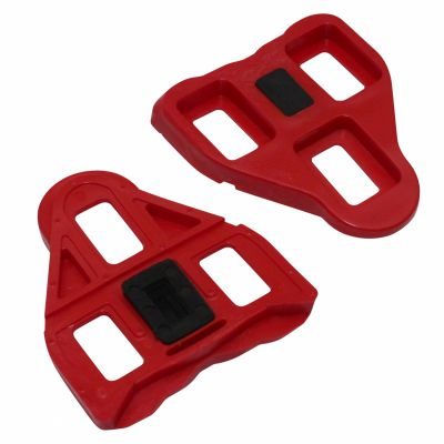 Cales pédales auto Roto compatibles Look Delta 9 degrés Rouge