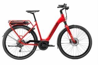 Vélo électrique Cannondale Mavaro Active City Bosch 400 Wh Rouge