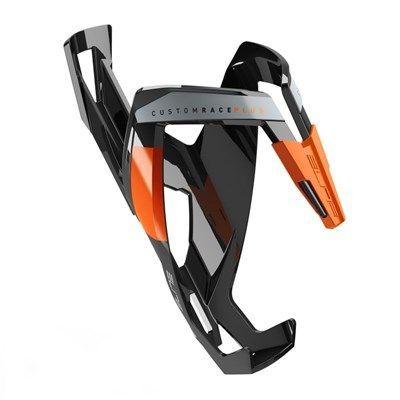 Porte-bidon Elite Custom Race Plus Noir/Orange brillant