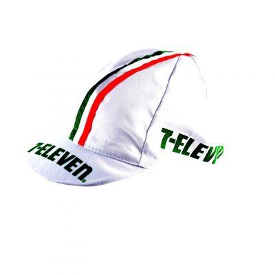Casquette Equipe Vintage 7 Eleven Italia Blanc
