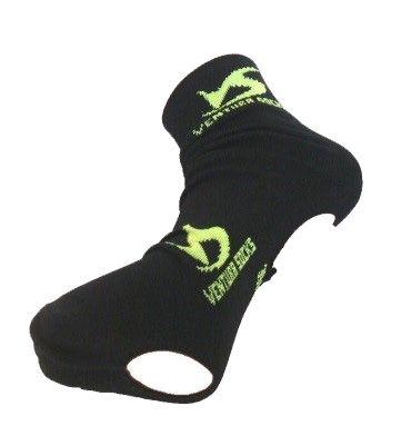 Couvre-chaussures Noir logo Jaune