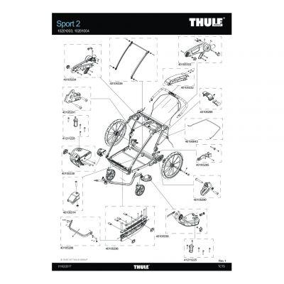 Support de sac cargo Thule Sport 2 - 40190642