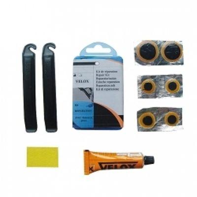 Nécessaire réparation VELOX + 2 démonte-pneus