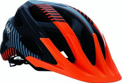 Casque BBB Nerone Noir mat & orange - BHE-68