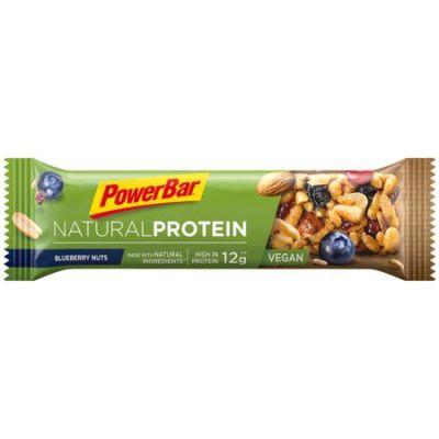 Barre protéinée PowerBar Natural Protein Vegan 40 g Cassis