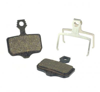 Plaquettes semi-métalliques Ashima comp. Avid Elixir