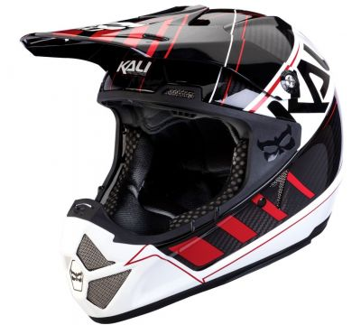 Casque Kali Protectives Shiva Speed Machine Noir/Rouge