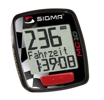 Compteur cycle et moto filaire Sigma MC 10