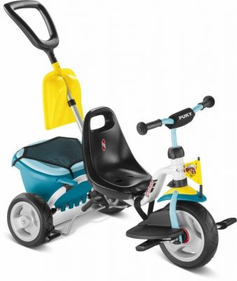Tricycle Puky CAT 1SP + Accessoires 2 ans Blanc/Menthe
