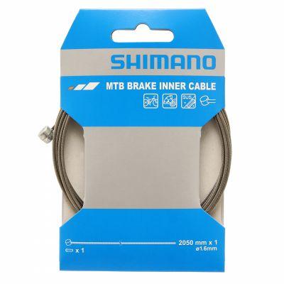 Câble de frein Shimano VTT SUS 1,6x2050 mm (L'unité)