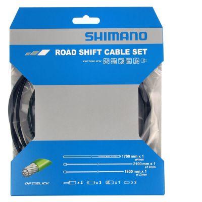 Kit câbles et gaine de vitesses Shimano Optislick Noir