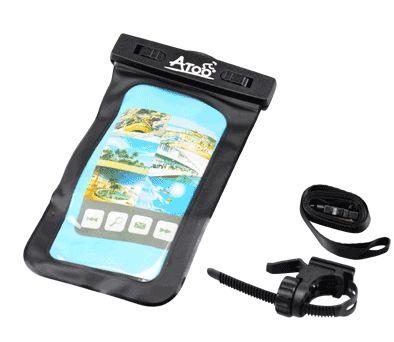 Support Smartphone ATOO étanche Fixation sur cintre