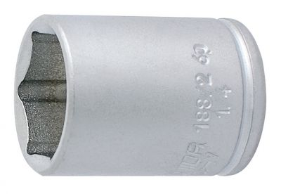 """Douille 1/4"""" Unior 6 pans 9 mm 188/2 6p"""
