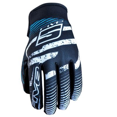 Gants Five Planet Fashion Logo Blue