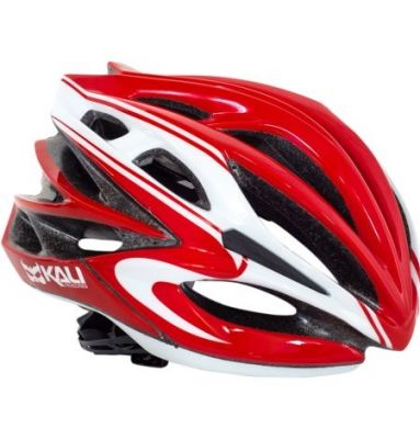 Casque Kali Protectives Loka Crystal Rouge/Blanc