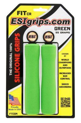 Poignées ESI Grips FIT CR silicone Vert