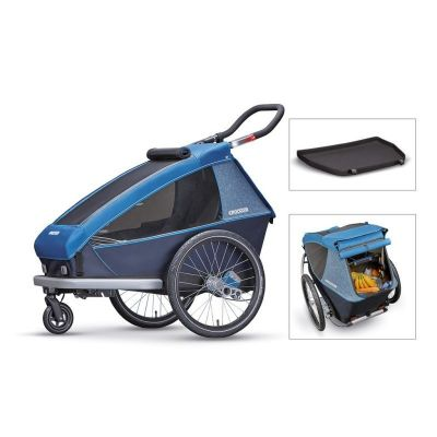 Remorque Enfant Croozer Kid Plus for 1 2019 Bleu