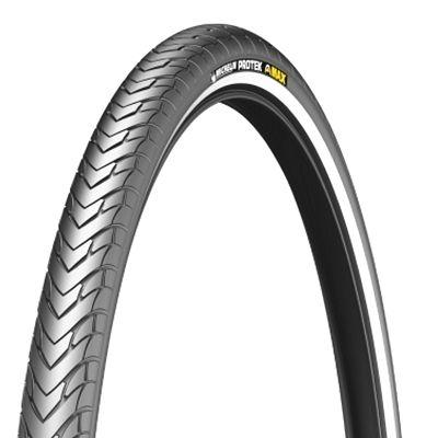 Pneu Michelin Protek Max 700 x 28C TR Noir/Flancs réfléchissants