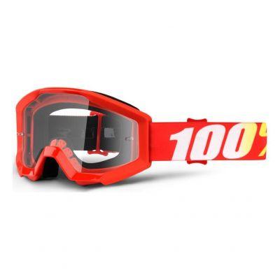 Masque 100% Strata Enfant Furnace/Clear